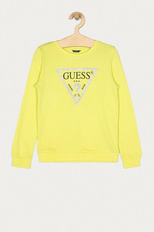 verde deschis Guess Jeans - Bluza copii 118-175 cm De fete