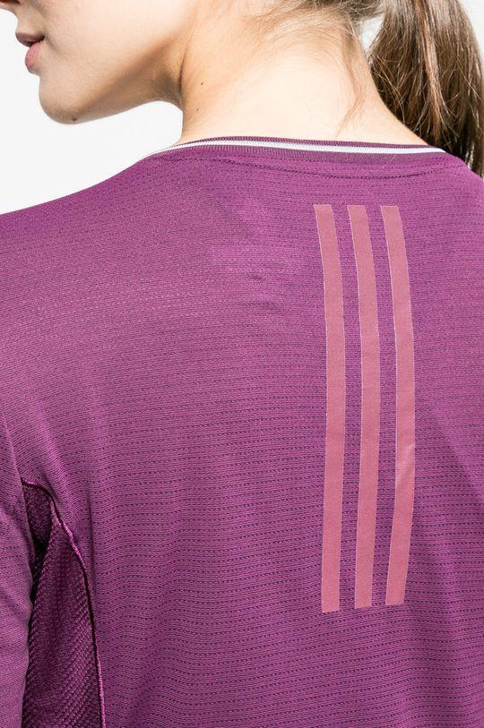 тъмновиолетов adidas Performance - Блуза