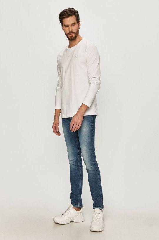 Gant - Longsleeve biały