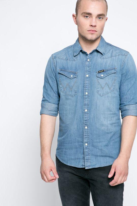 modrá Wrangler - Košile Pánský