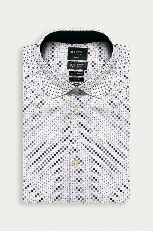 biela Selected - Košeľa Pánsky
