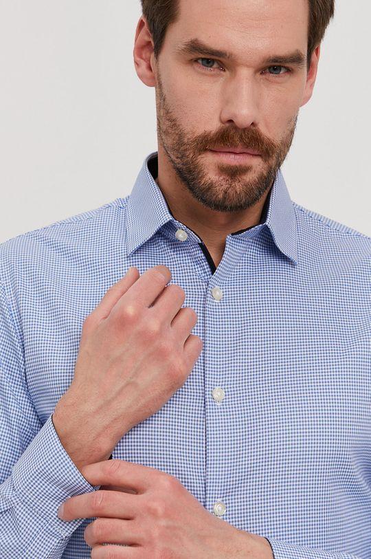 jasny niebieski Selected - Koszula Męski