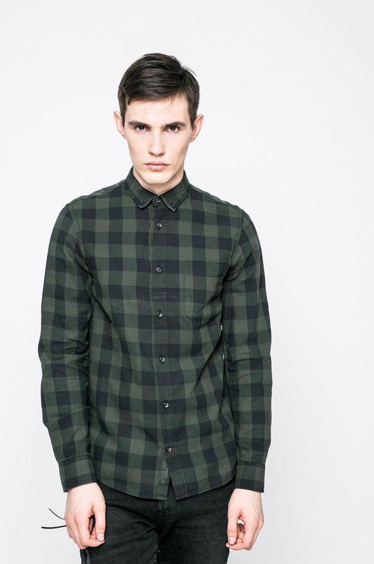 zelená Produkt by Jack & Jones - Košile Graham Pánský