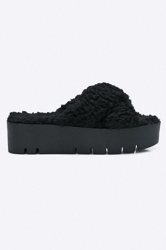 černá Public Desire - Pantofle EZRA.BLK Dámský