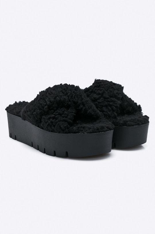 Public Desire - Pantofle EZRA.BLK černá