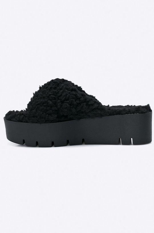 Public Desire - Pantofle EZRA.BLK  Svršek: Textilní materiál Vnitřek: Textilní materiál Podrážka: Umělá hmota