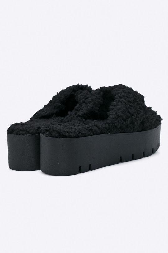 černá Public Desire - Pantofle EZRA.BLK
