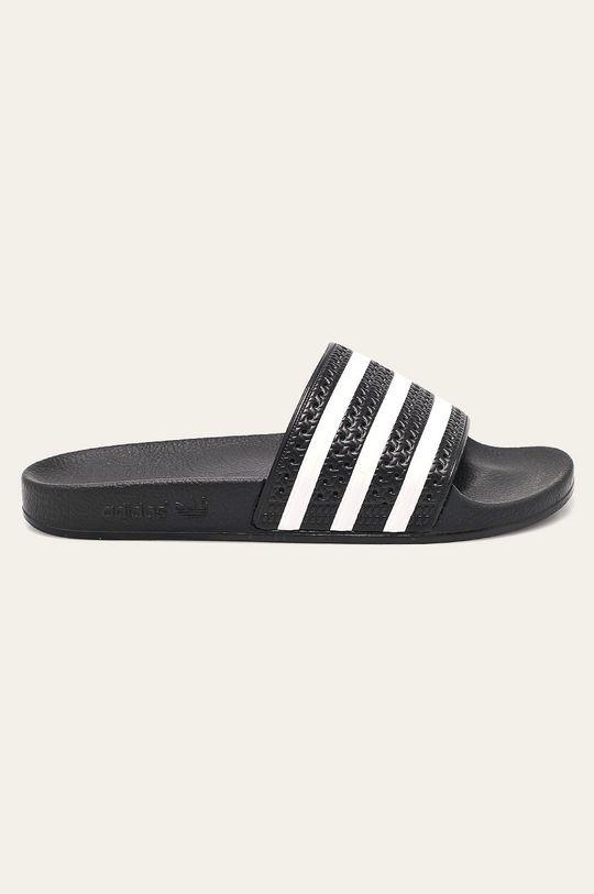 černá adidas Originals - Pantofle Pánský