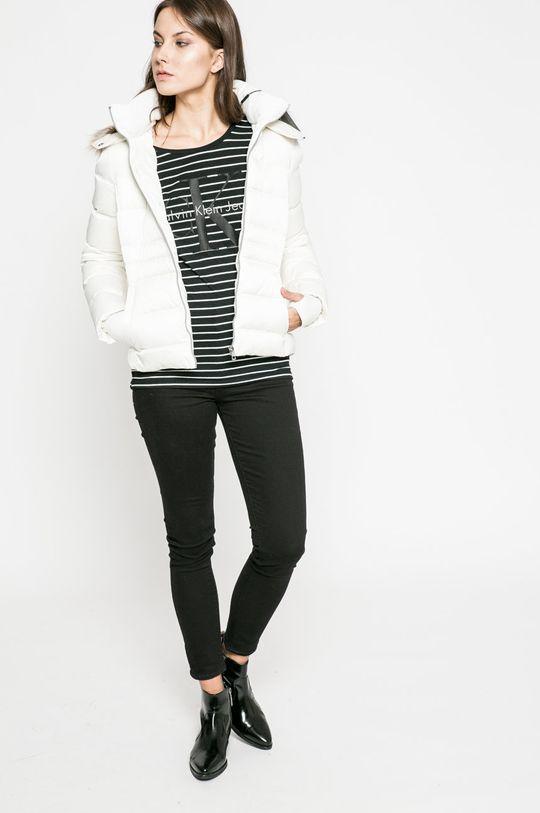 Calvin Klein Jeans - Пухено яке бял