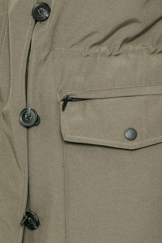 тъмнозелен Calvin Klein Jeans - Пухено яке