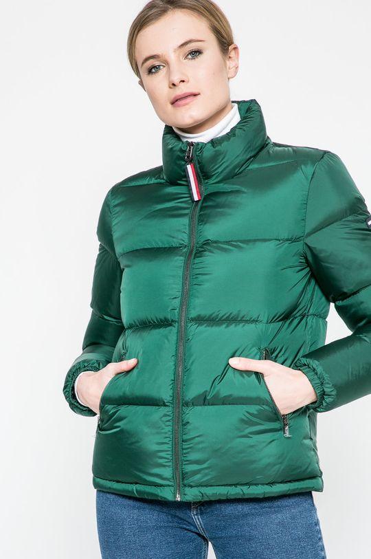 тъмнозелен Hilfiger Denim - Пухено яке Жіночий