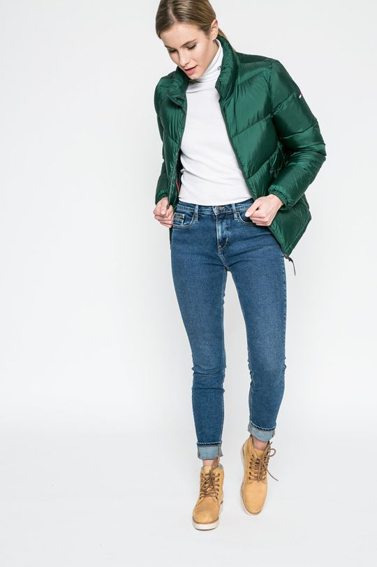 Hilfiger Denim - Пухено яке тъмнозелен