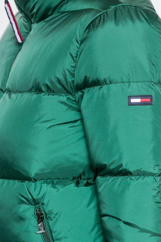 тъмнозелен Hilfiger Denim - Пухено яке