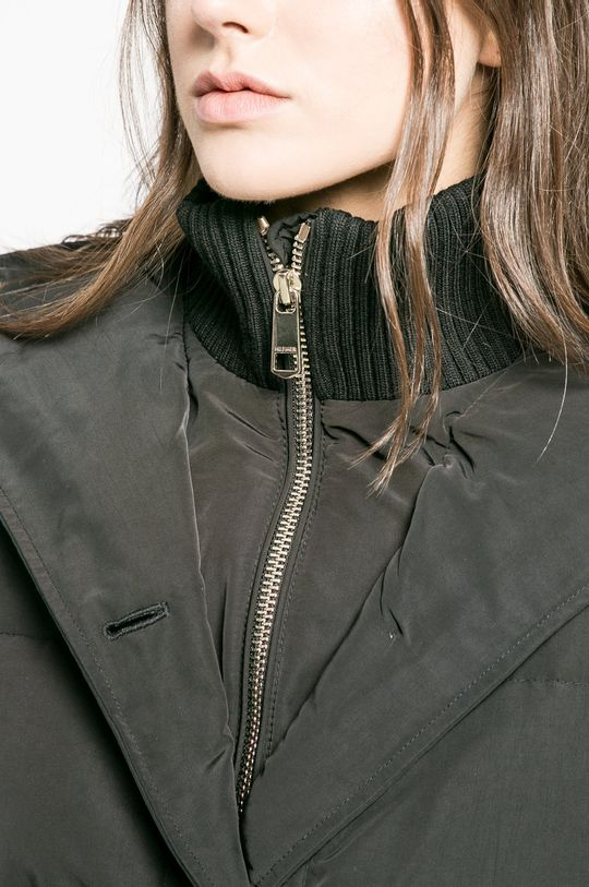 черен Tommy Hilfiger - Пухено яке