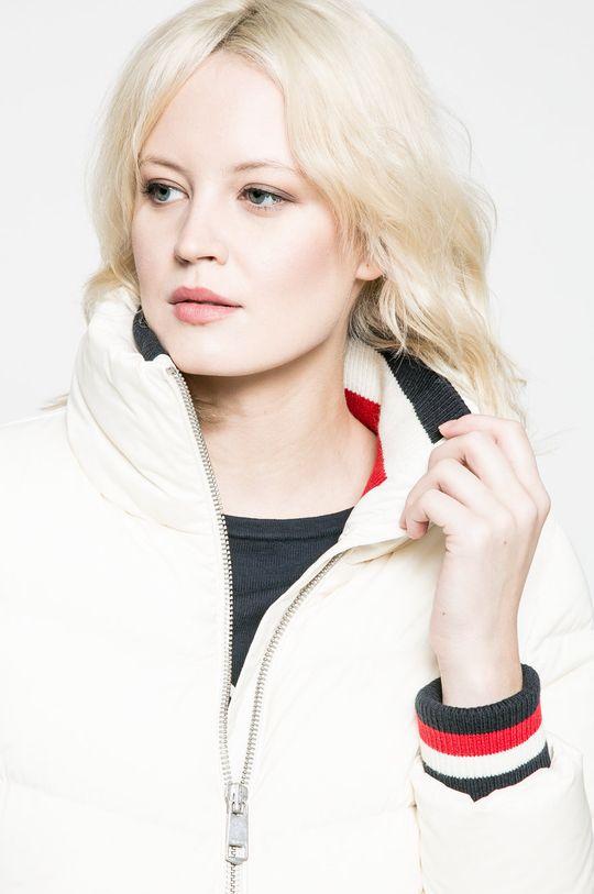 бял Tommy Hilfiger - Пухено яке