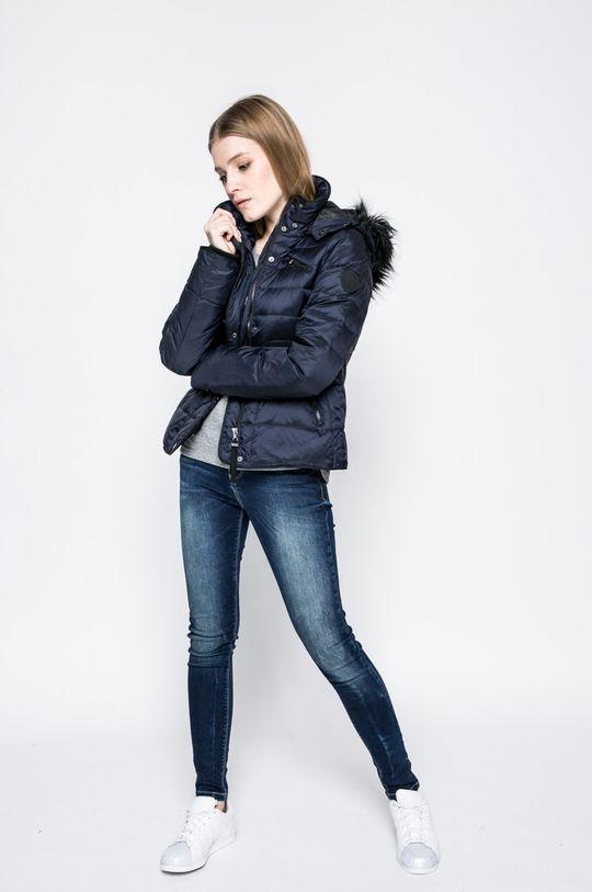 Vero Moda - Пухено яке Marga тъмносин