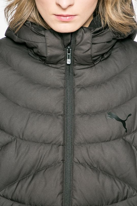 черен Puma - Пухено яке