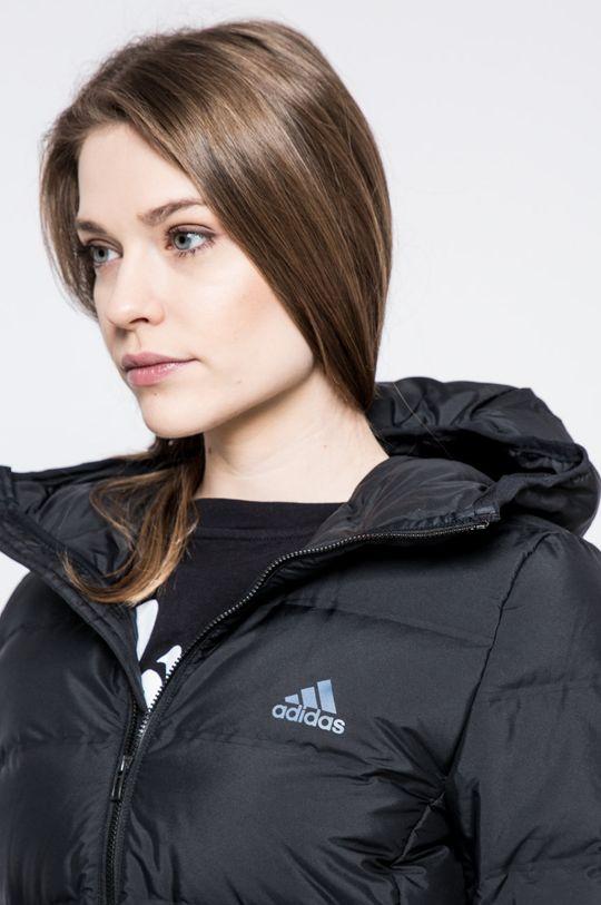černá adidas Performance - Péřová bunda