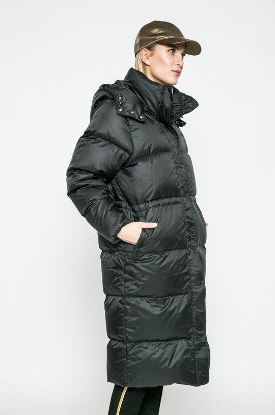 adidas Originals - Палто с пух черен