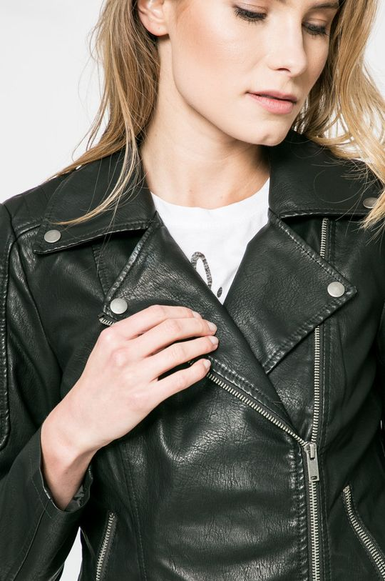 fekete Noisy May - Rövid kabát Rebel