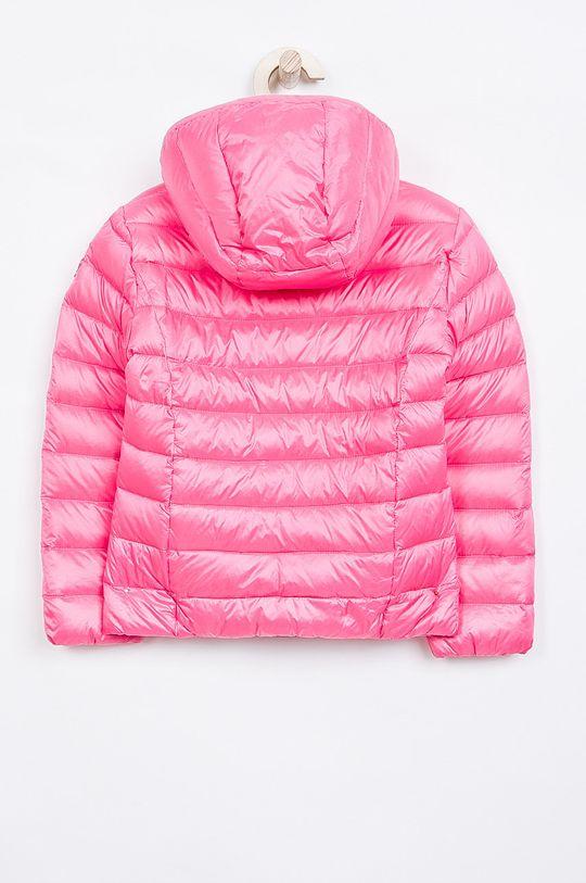 Guess Jeans - Dětská péřová bunda 118-166 cm. růžová