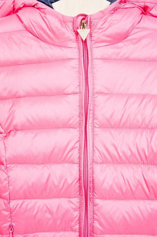 růžová Guess Jeans - Dětská péřová bunda 118-166 cm.