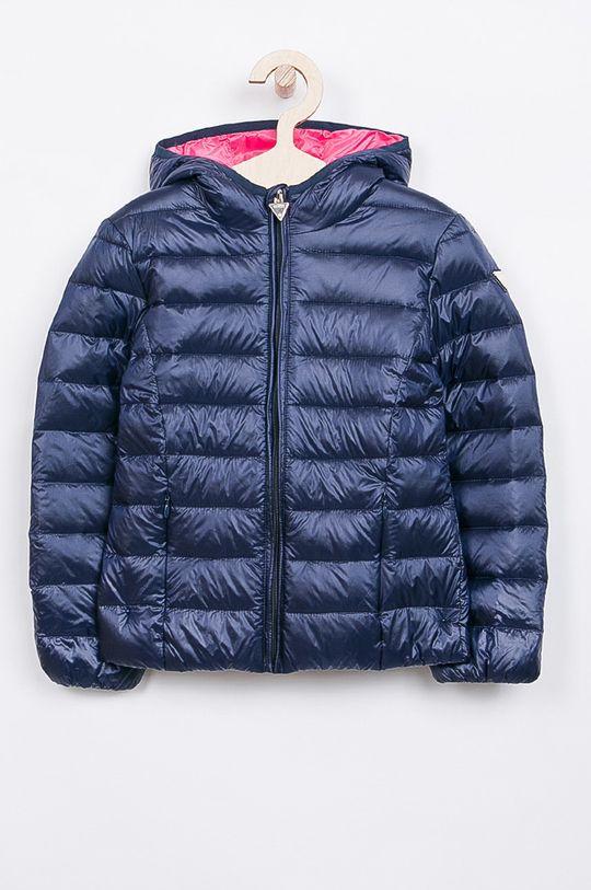 námořnická modř Guess Jeans - Dětská péřová bunda 118-166 cm. Dívčí