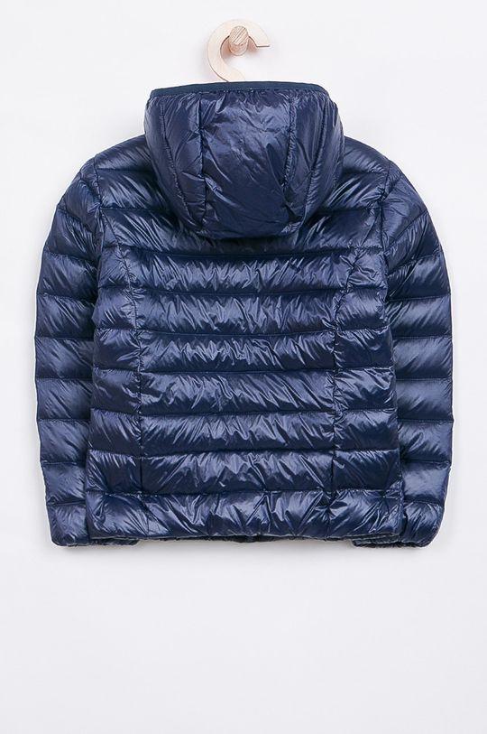 Guess Jeans - Dětská péřová bunda 118-166 cm. námořnická modř