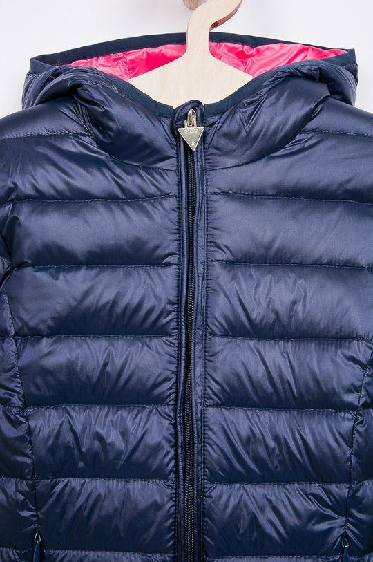 námořnická modř Guess Jeans - Dětská péřová bunda 118-166 cm.