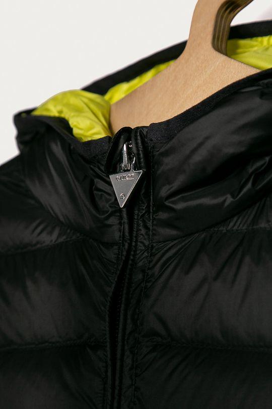 černá Guess Jeans - Dětská péřová bunda 118-166 cm.