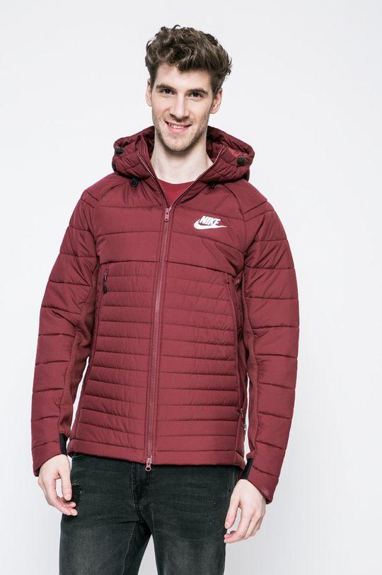 kaštanová Nike Sportswear - Bunda Pánský