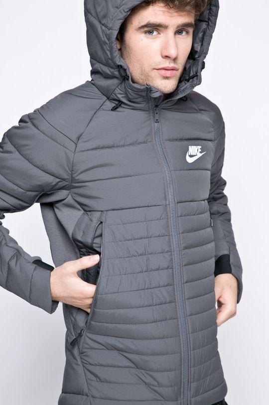 šedá Nike Sportswear - Bunda Pánský