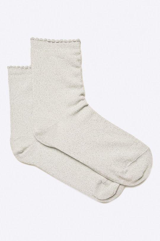 světle šedá Pieces - Ponožky Dámský