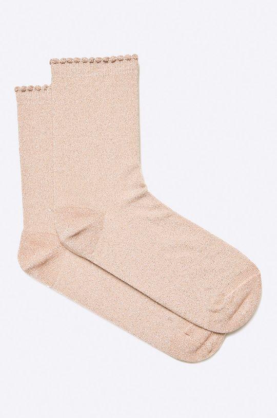 starorůžová Pieces - Ponožky Dámský