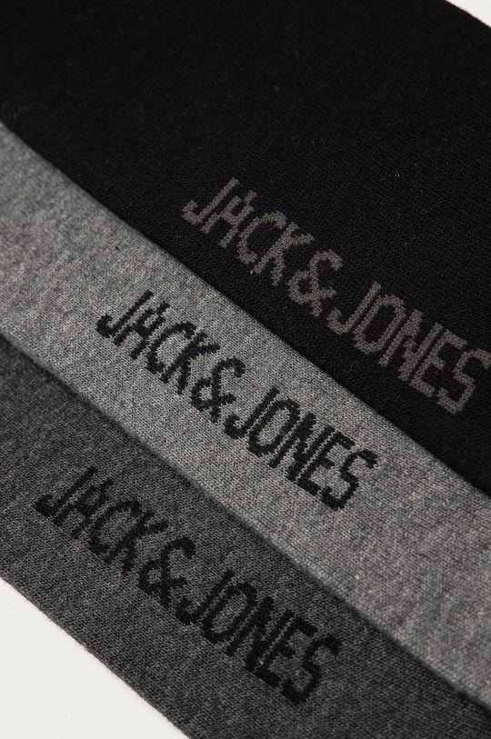 Jack & Jones - Ponožky (4-pack) grafitová