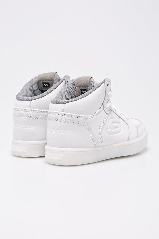 biela Skechers - Topánky