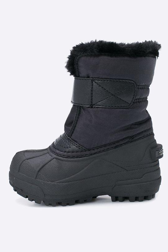 Sorel - Dětské boty Children's Snow Commander  Svršek: Umělá hmota, Textilní materiál Vnitřek: Textilní materiál Podrážka: Umělá hmota