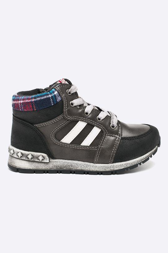 čierna American Club - Detské topánky Chlapčenský