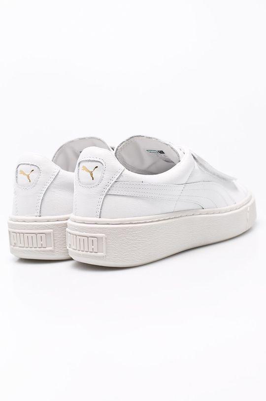 biały Puma - Buty Basket Platform Strap