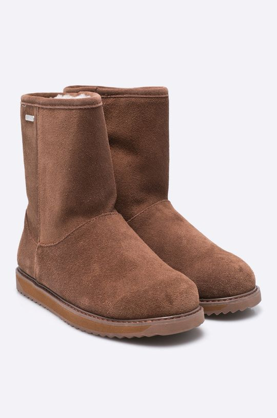 Emu Australia - Členkové topánky Paterson Classic Lo zlatohnedá