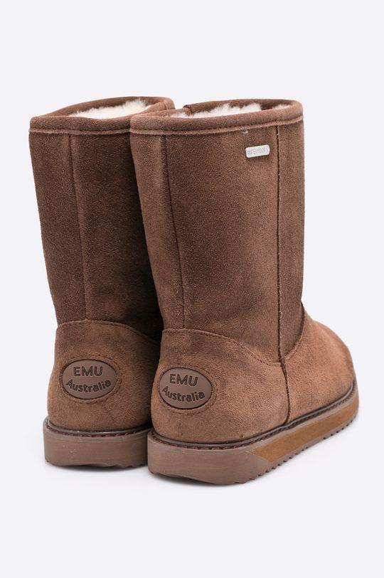 zlatohnedá Emu Australia - Členkové topánky Paterson Classic Lo