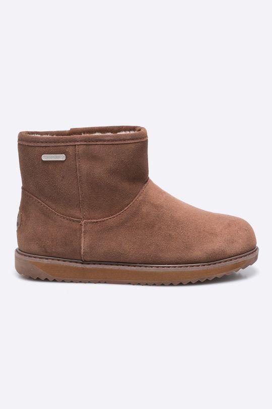 hnedá Emu Australia - Členkové topánky Dámsky