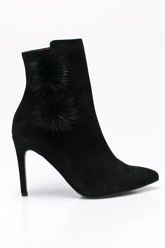 čierna Solo Femme - Čižmy Dámsky