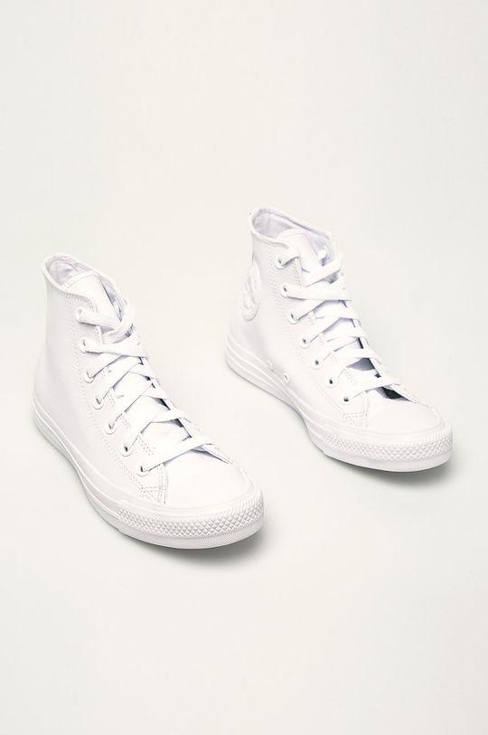 Converse - Trampki Chuck Taylor All Star Leather biały