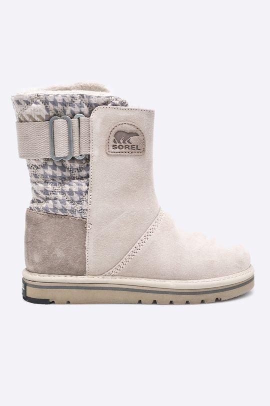 kawowy Sorel - Śniegowce Newbie Damski