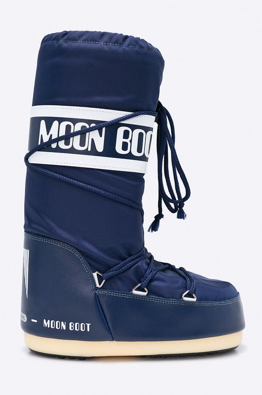 granatowy Moon Boot - Śniegowce Damski