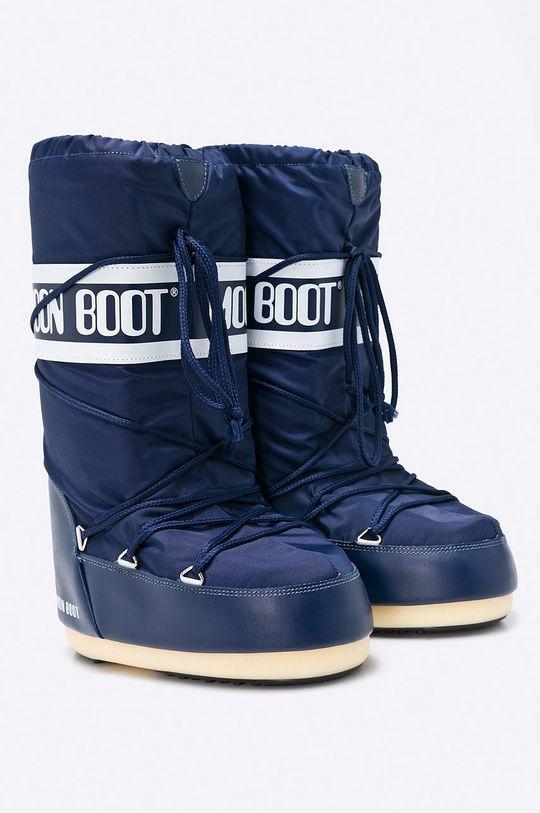 Moon Boot - Śniegowce granatowy