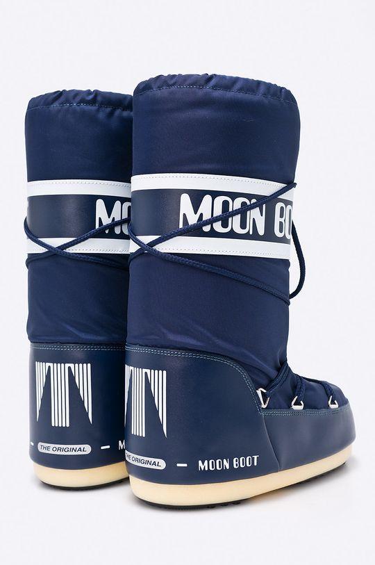 granatowy Moon Boot - Śniegowce