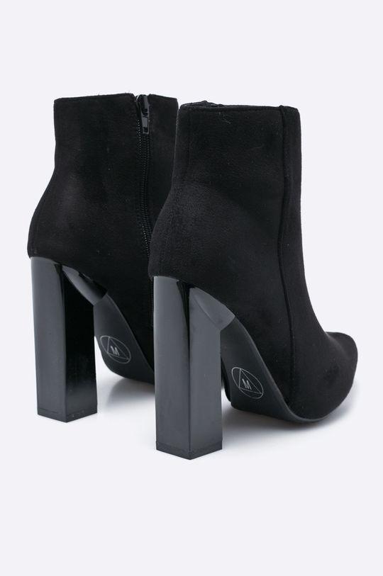 černá Missguided - Nízké kozačky F1607908