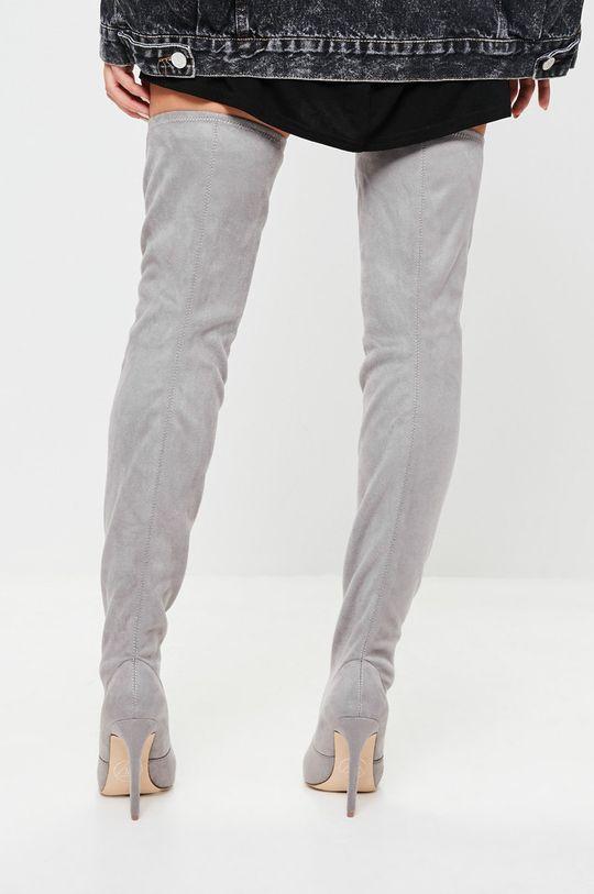 Missguided - Kozačky Chunky Sole  Svršek: Textilní materiál Vnitřek: Umělá hmota Podrážka: Umělá hmota